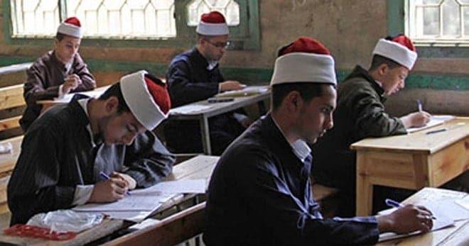 إمتحانات الترم الأول المرحلة الإعدادية في المعاهد الأزهرية
