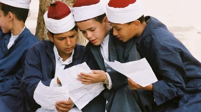 إمتحانات الترم الأول المرحلة الابتدائية في المعاهد