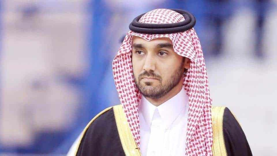 عبد العزيز بن تركي الفيصل وزيرا للرياضة