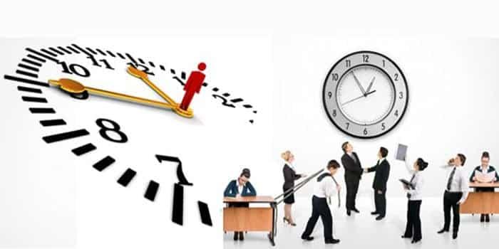عدد ساعات العمل في مشروع العمل الجديد
