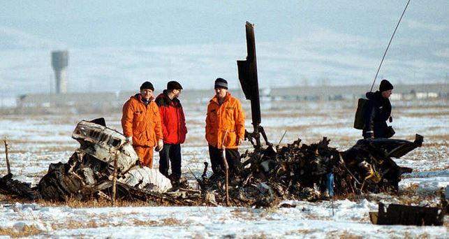 مصرع 4 أشخاص في تحطم طائرة في سيبيريا