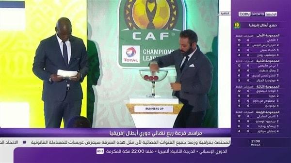 نتيجة قرعة دوري أبطال أفريقيا