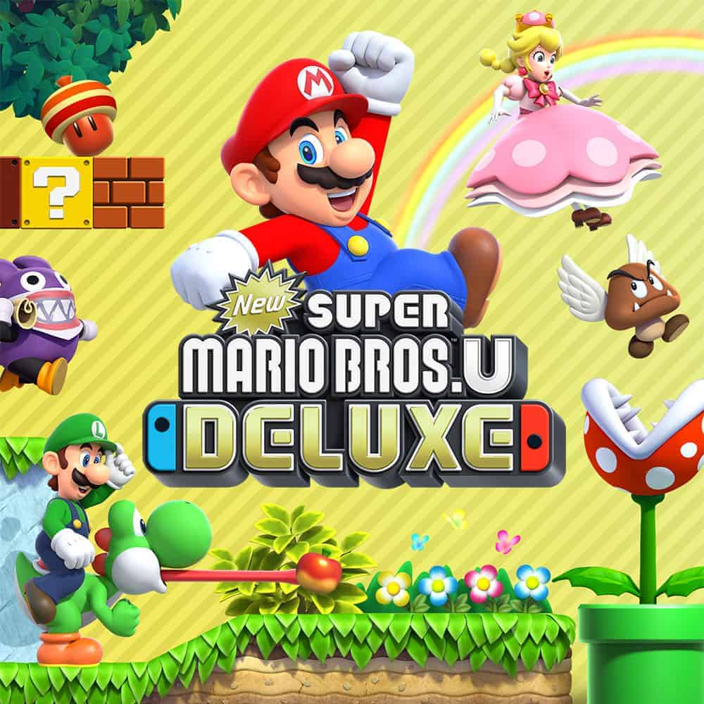لعبة New Super Mario Bros. U