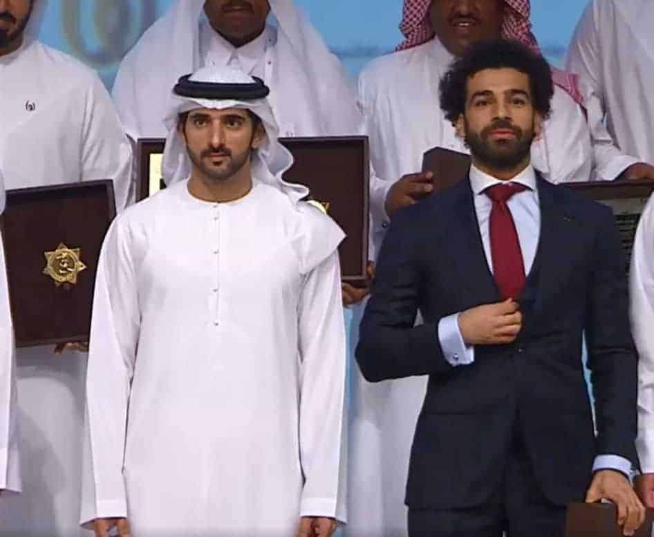 الإمارات تكرم محمد صلاح