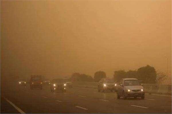 عواصف ترابية تجتاح مدن وقرى القليوبية