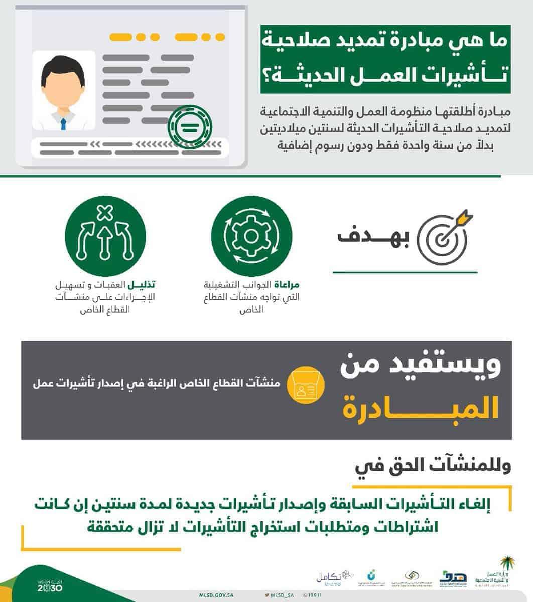 مبادرة جديدة من وزارة العمل السعودية
